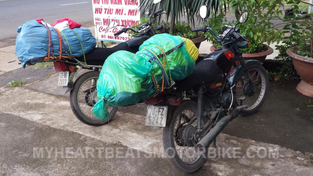 Honda Win Backpacking Vietnam