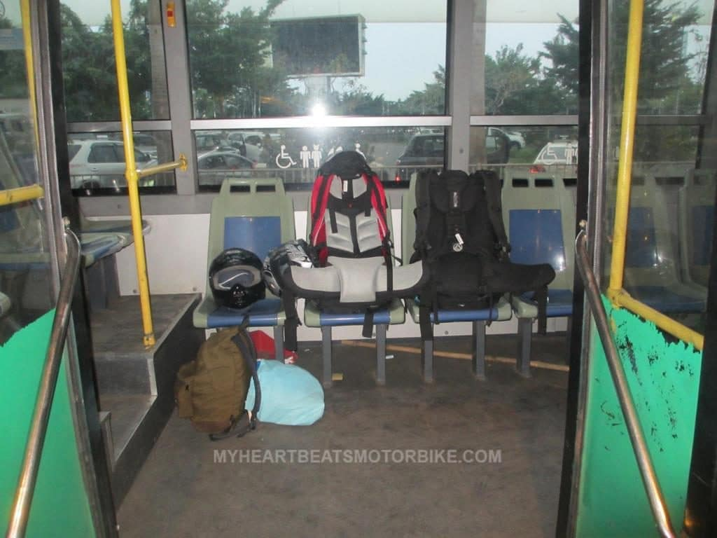 Bus 152 Ho Chi Minh City Backpack Airport